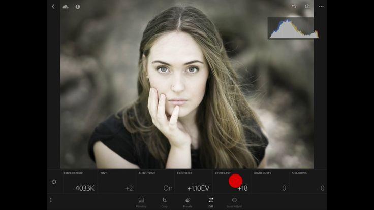 Lightroom Mobile Raw Editor #LightroomMobile