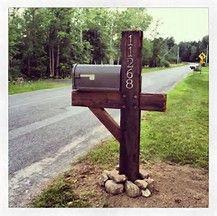 Image result for large mailboxes rural