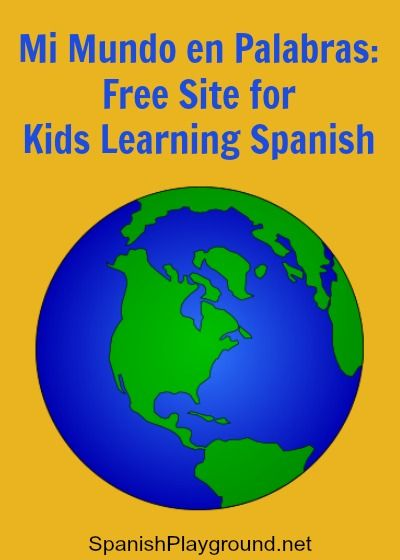 A Spanish website for kids, designed by el Centro Virtual Cervantes. This is a complete free program and a wonderful resource!