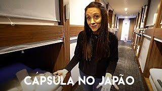 HOTEL CÁPSULA no JAPÃO | o DIFERENTE do JAPÃO | Travel and Share | T4. Ep.142