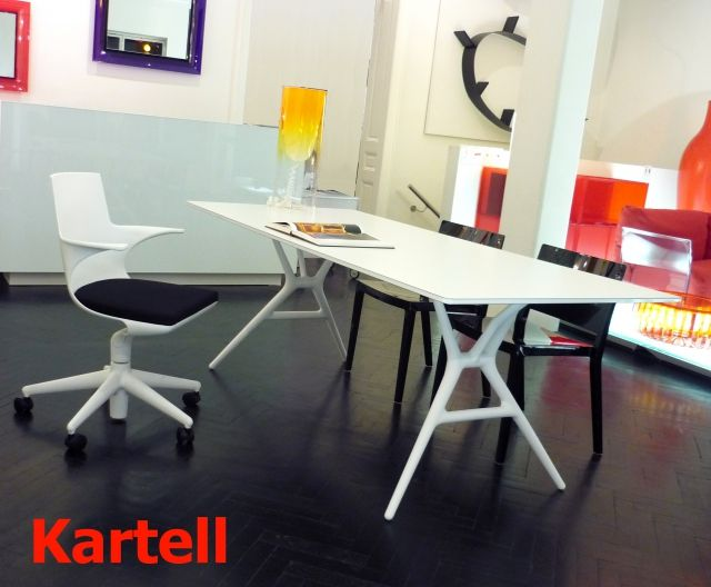 SPOON Table de KARTELL  QUARTZDESIGN  home  Pinterest