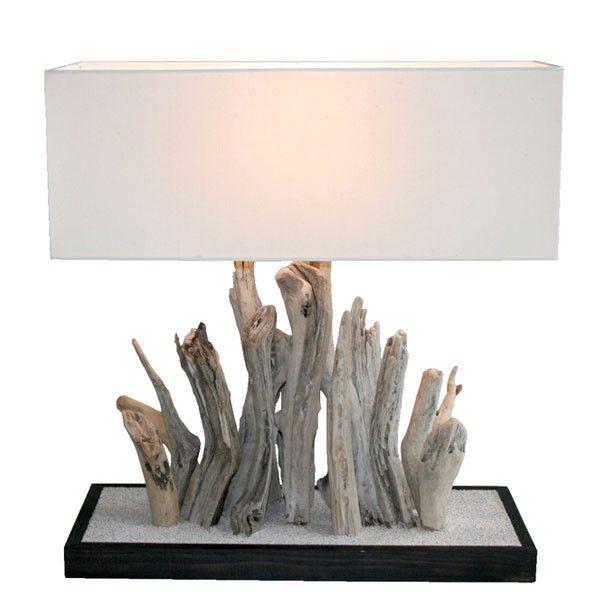 Plus de 1000 id es propos de bois flott sur pinterest for Lampes en bois flotte