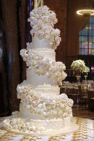 17 Best images about ***Wedding Cakes*** on Pinterest | Cake make, Big cakes and White wedding cakes
