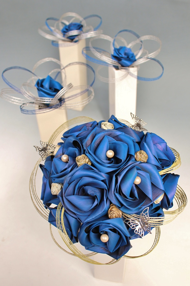 Butterfly bouquet designed for a client with a love of butterflys.  www.flaxation.co.nz