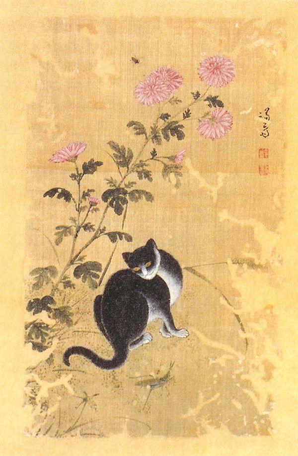 (Korea) 국일한묘 by Hyewon Shin Yun-bok (1758- ?). ca 18th century CE. color on paper. Gansong gallery, Korea.