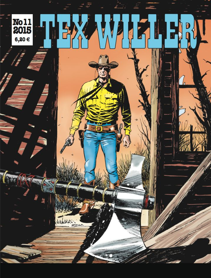Tex Willer -lehti nro 11/2015. #egmont #sarjakuva #sarjis
