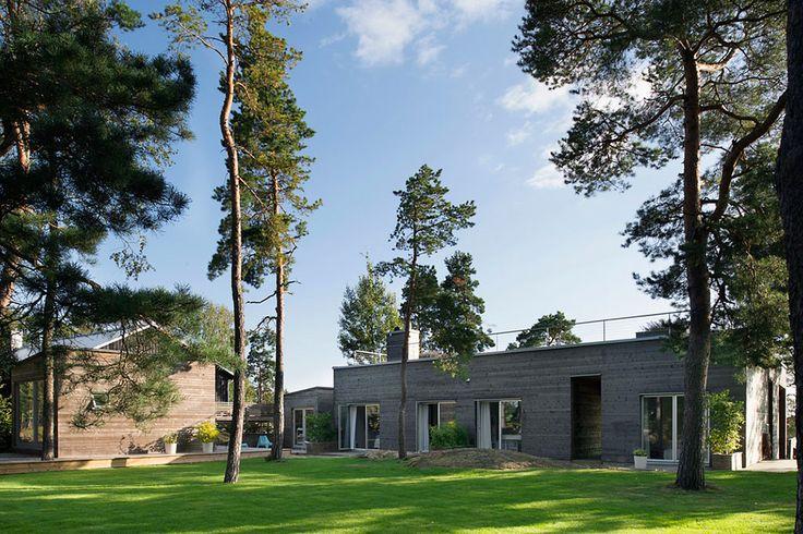 Taludden house in Sweden