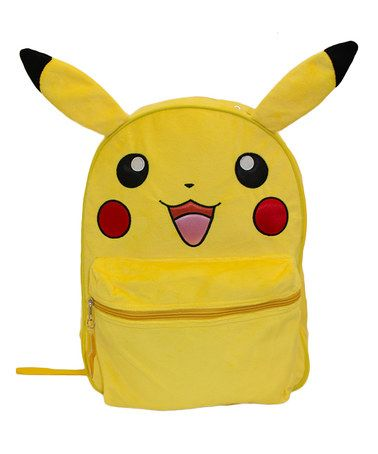Another great find on #zulily! Pokemon Plush Pikachu Backpack #zulilyfinds