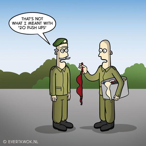 5 Terrible Funny Puns Cartoon Jokes Funny Puns Funny Cartoons