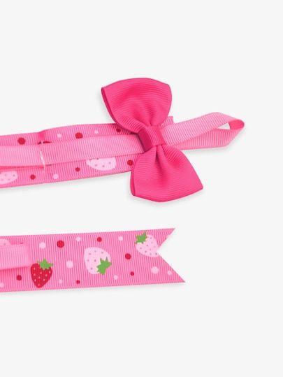 fd288a2a2d9a SheIn   Neon Pink Girls Fruit Print Headband Storage Strap