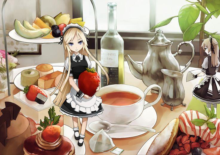23 best chibi images on pinterest anime art chibi and - Ice cream anime girl ...