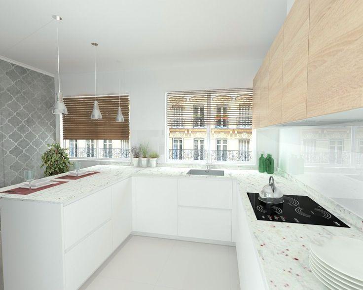 m s de 25 ideas incre bles sobre cocina de granito blanco