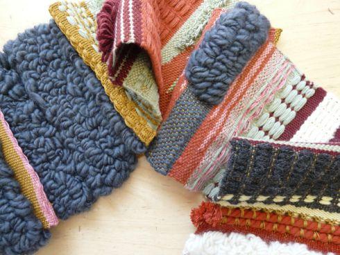 Gorgeous textiles, woven by Greta Serra - BCN Handmade