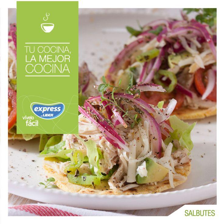 México: Salbutes #Recetario #Receta #RecetarioExpress #Lider #Food #Foodporn #MexicanFood #Salbutes #Mexico