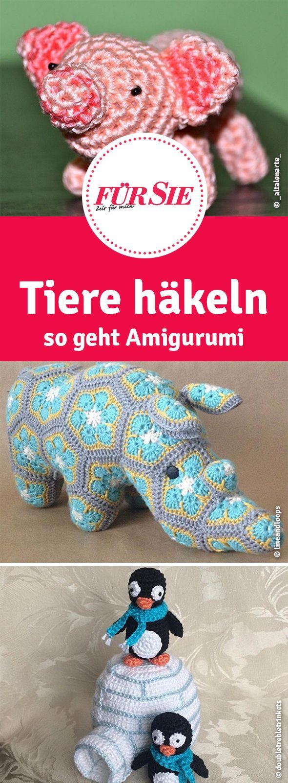 Famous Winzige Häkeln Tiere Muster Photo - Decke Stricken Muster ...