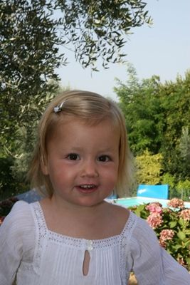 Foto van Prinses Alexia, augustus 2007 © RVD; foto: Z.K.H. de Prins van Oranje
