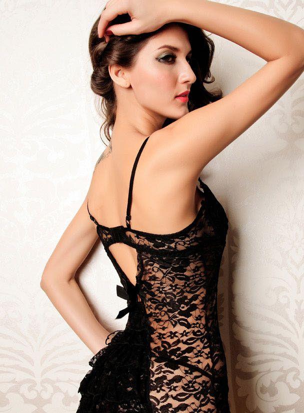 Black Elegant and Sexy Badydoll