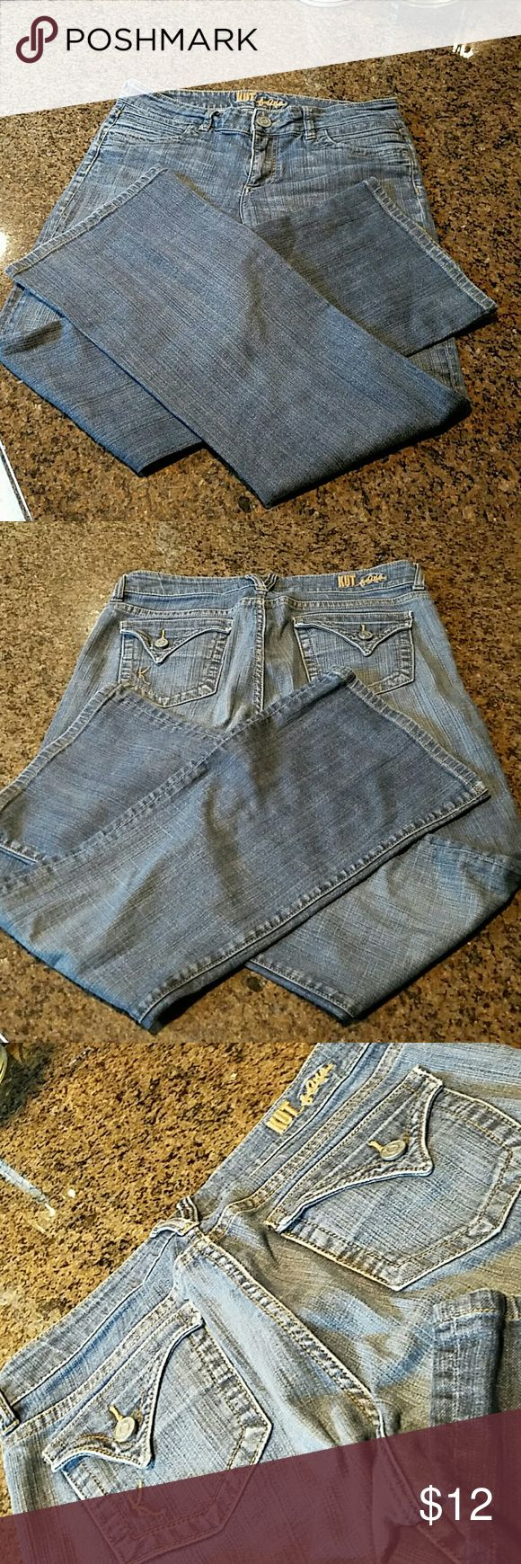Kut Jeans/Boot Cut Great condition. Kut from the Kloth Jeans Boot Cut