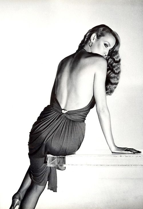 Jerry Hall by Gianpaolo Barbieri for Vogue Italia.