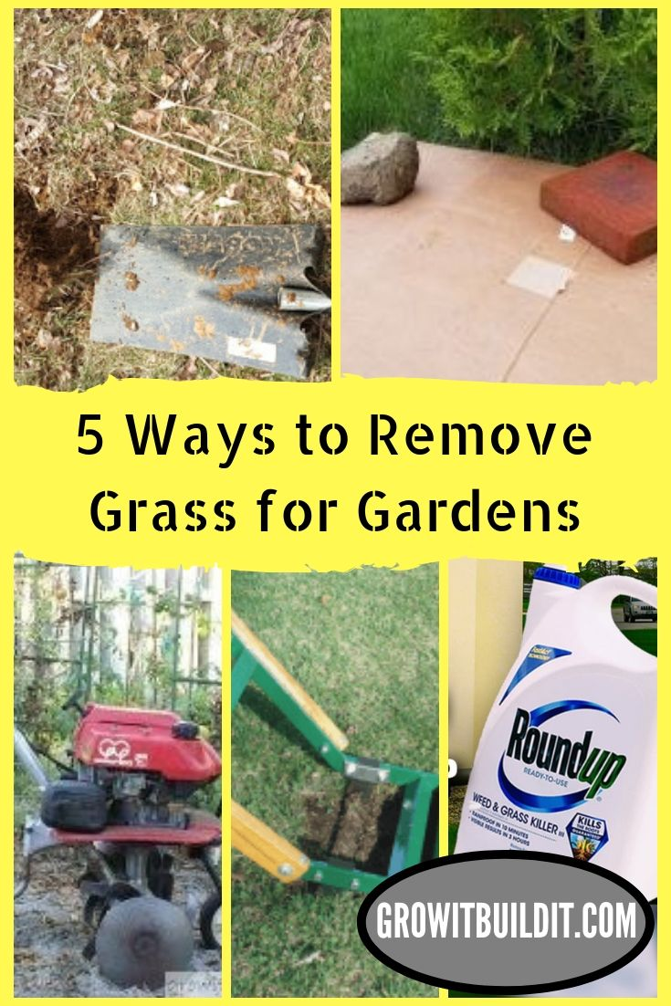 Not Sure Which Sod Removal Method Is The Best For Your Job We Are Sharing The 5 Ways To Remove Grass Sod To Help You Learn The Way Gardening For Beginners