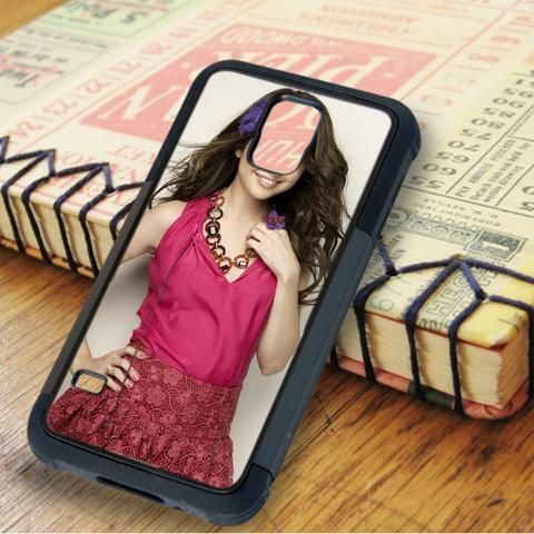 Selena Gomez Cute Smile Singer Idol Star Samsung Galaxy S5 Case