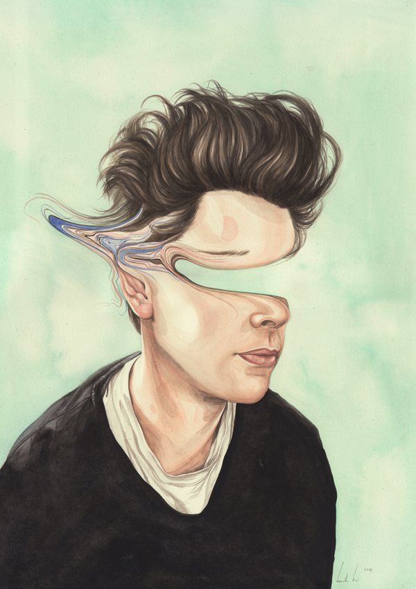 PERSONALITY - Distorted Illustrations by Henrietta Harris | Inspiration Grid…