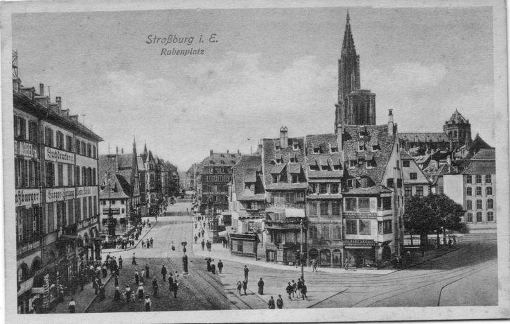 Strasbourg | Alsace vosges, Strasbourg, Carte postale