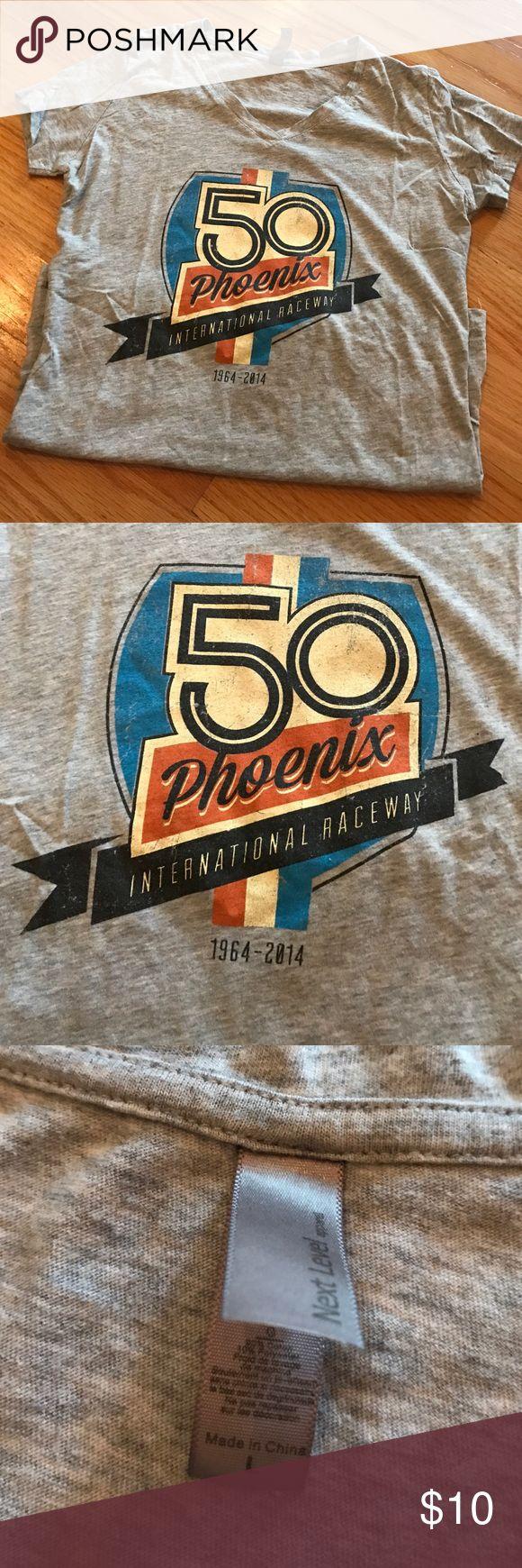 Phoenix International Raceway t-shirt Phoenix International Raceway size L (juniors) 50 year anniversary t-shirt Next Level Tops Tees - Short Sleeve