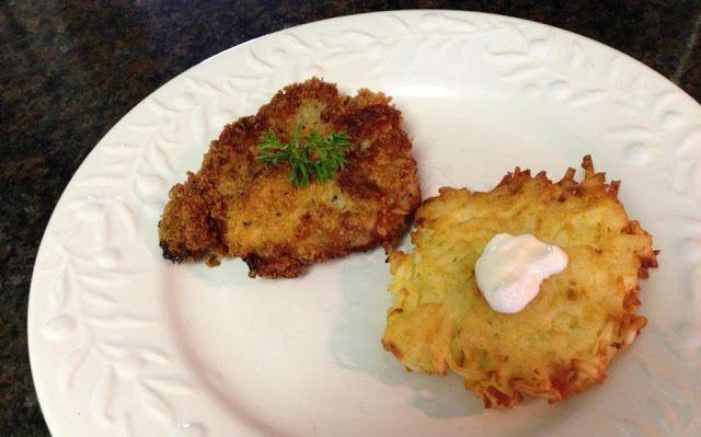 37 Cooks: Weiner Schnitzel and Latkes   Nom Nom Nom   Pinterest