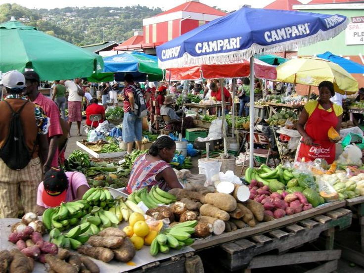 Castries market St Lucia  One of the best markets in the Caribbean!