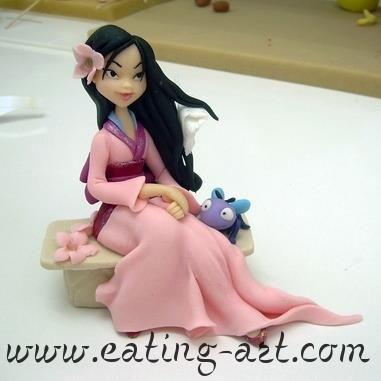 Mulan. Love this person's modeling skills.
