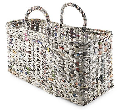 Handbag Newspaper basket. I can try!