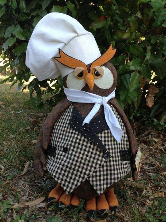 Búho cocinero.: