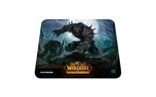 SteelSeries QcK World of Warcraft Cataclysm Gaming Mouse Pad-Worgen Edition @ niftywarehouse.com #NiftyWarehouse #WoW #WorldOfWarcraft #Warcraft #Gaming