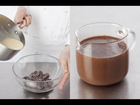 Technique de cuisine : préparer une sauce au chocolat
