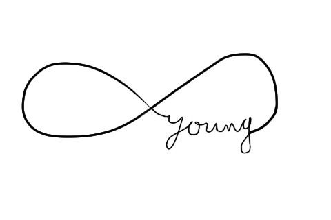 love this. tattoo idea?  Maybe a different word thoughForeveryoung