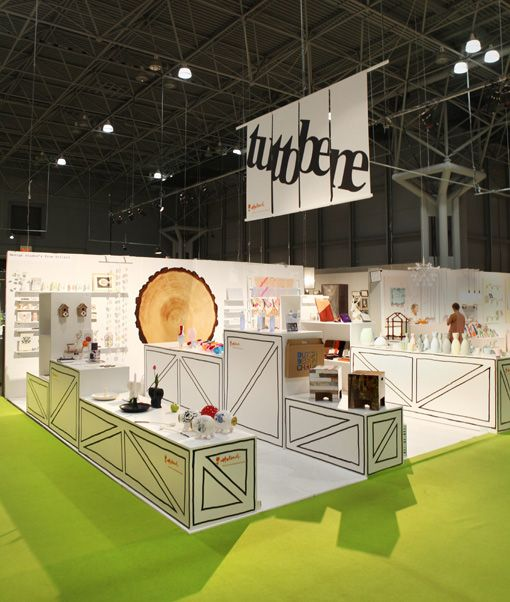 Tuttobene's booth at the New York International Gift Fair.