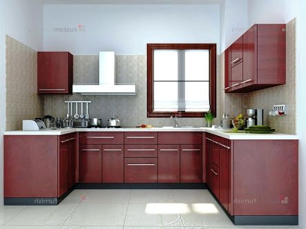 Image Result For L Shaped Modular Kitchen Designs Catalogue Kitchen Room Design Kitchen Design Contemporary Kitchen Design