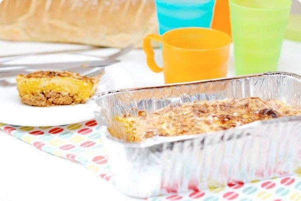 Receta de pastel de patata y carne con Thermomix