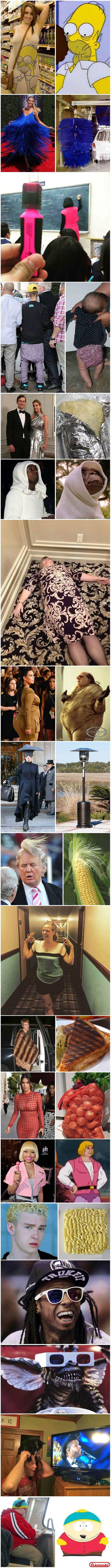 Roupas inspiradas em outras coisas auhehuahuehuae http://bit.ly/2n6uKlW