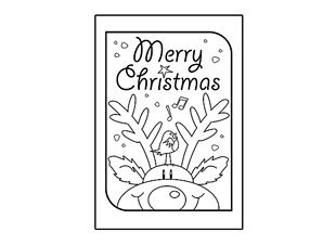 Best Christmas Cards Images On Pinterest Christmas Cards - Christmas card templates to color