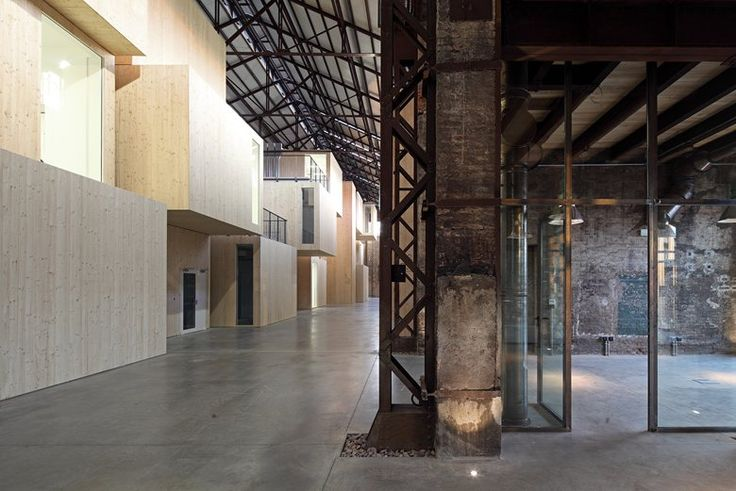 Technopole for industrial research requalification of Shed 19 in the old Officine Reggiane area, Reggio Emilia, 2014 - andrea oliva