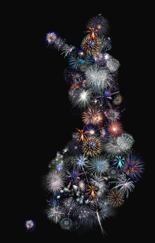 Suomi ilotulitus - Finland Fireworks