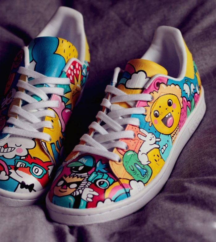customiser ses baskets adidas