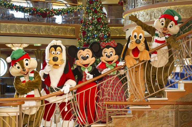 A partir de novembro, as embarcações Disney Magic, Disney Wonder, Disney Dream e Disney Fantasy estarão em clima de celebração...