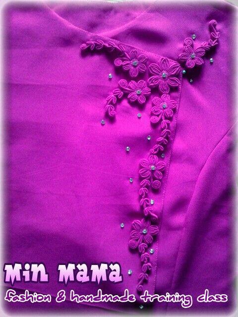 knot flowers dress design[Min MaMa fashion]