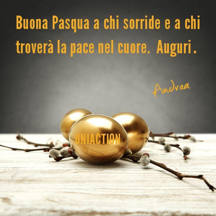 Buona #Pasqua a chi sorride e a chi troverà la pace nel cuore. Auguri. | Andrea Rizzello