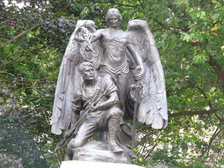 Boer War memorial in Worcester  Even Worcester has a memorial to its South Africa war dead of 1899 - 1902 in the Boer War