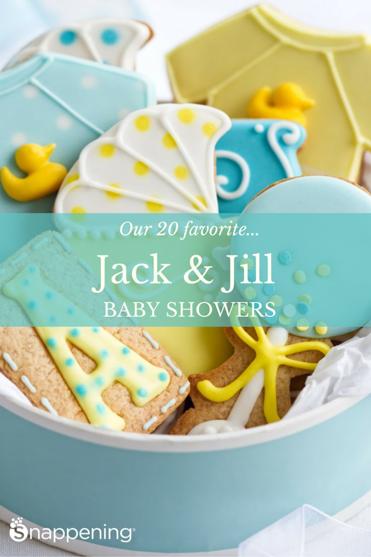 jack and jill baby shower ideas couple
