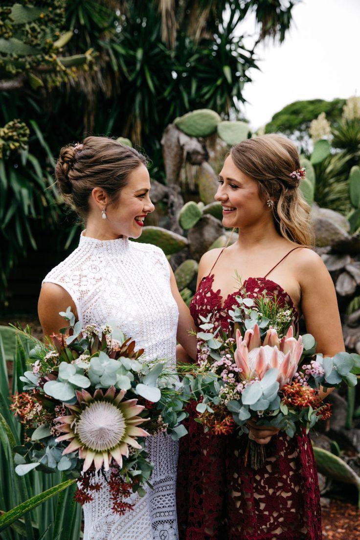 king protea bouquets by Sydney florist Petal & Fern